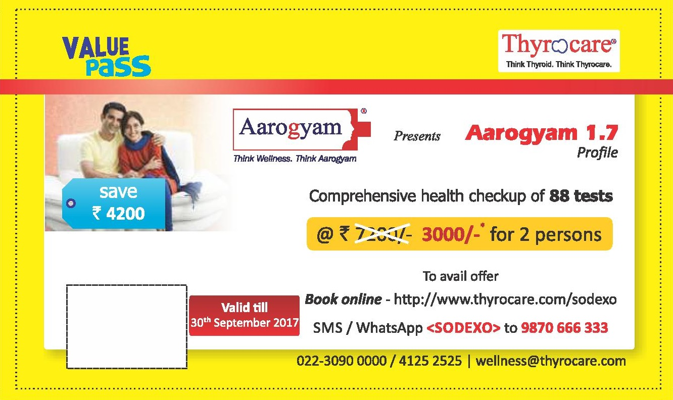 Value Offers - Thyrocare