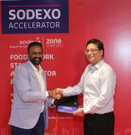 Sodexo committed to strengthen food offers in India by innovating with local startups